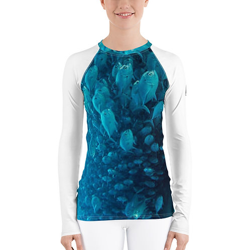 Women's Rash Guard - Fish Haven