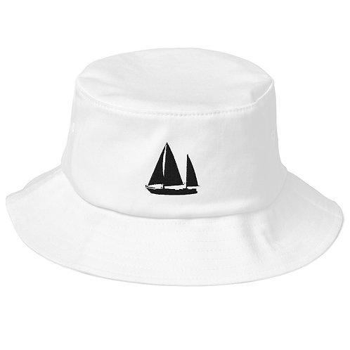 Old School Bucket Hat - Dawn Hunter Logo