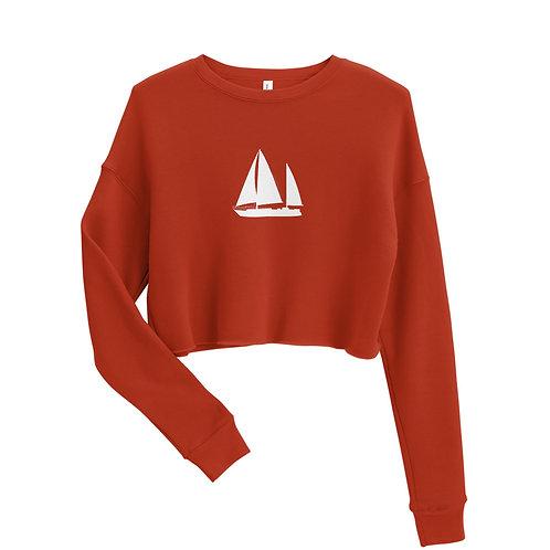 Crop Sweatshirt - Dawn Hunters Logo