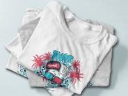 Impression numérique t-shirt personnalisé
