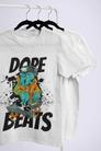 Impression numérique t-shirt personnalisé DOPE Beat