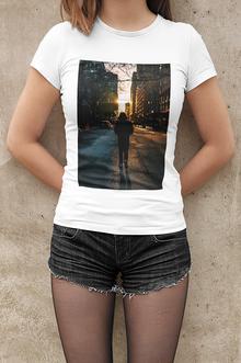 Impression numérique t-shirt femme personnalisé