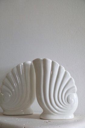 Bohemian Shell Vases