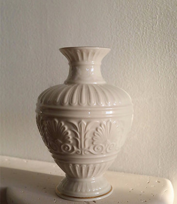 Antique White Vase