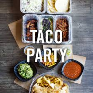 Monthly Taco Party Contest for 15-20 Guests