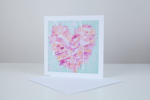 'Heart of Glass' Card