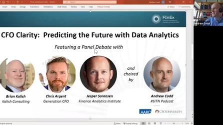 CFO Clarity - Predicting the Future Using Data Analytics