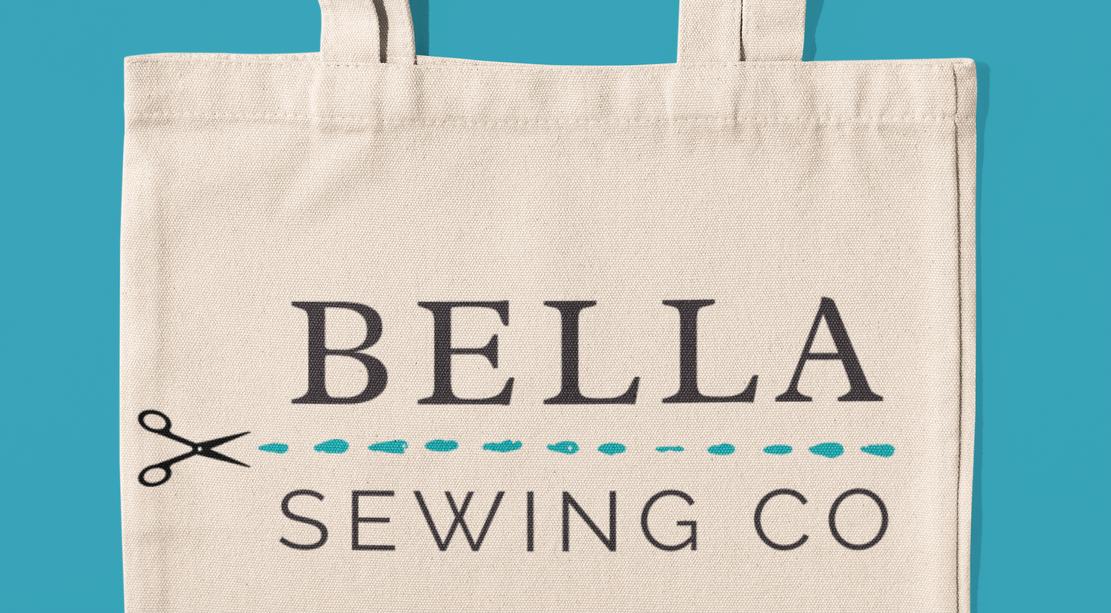 'Bella Sewing Co.' Logo Concept