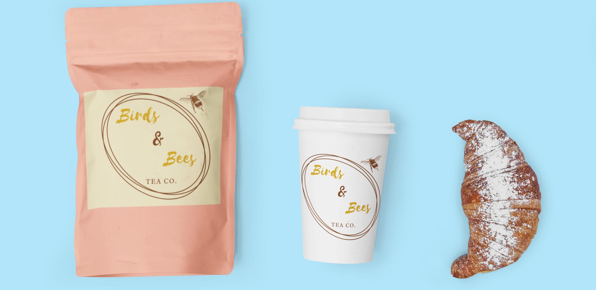 'Birds & Bees' Tea Company Concept