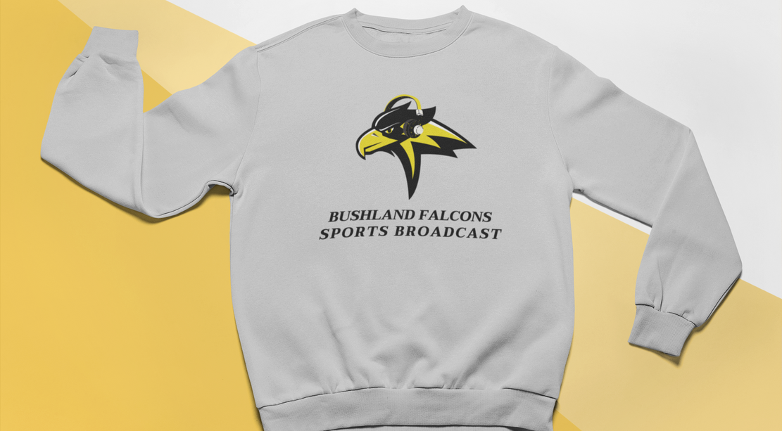 Bushland Falcons Crewneck