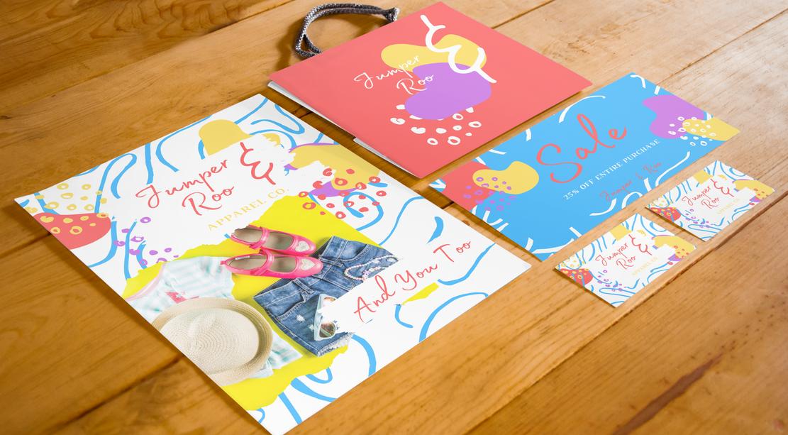 'Jumper & Roo' Brand Identity Concept