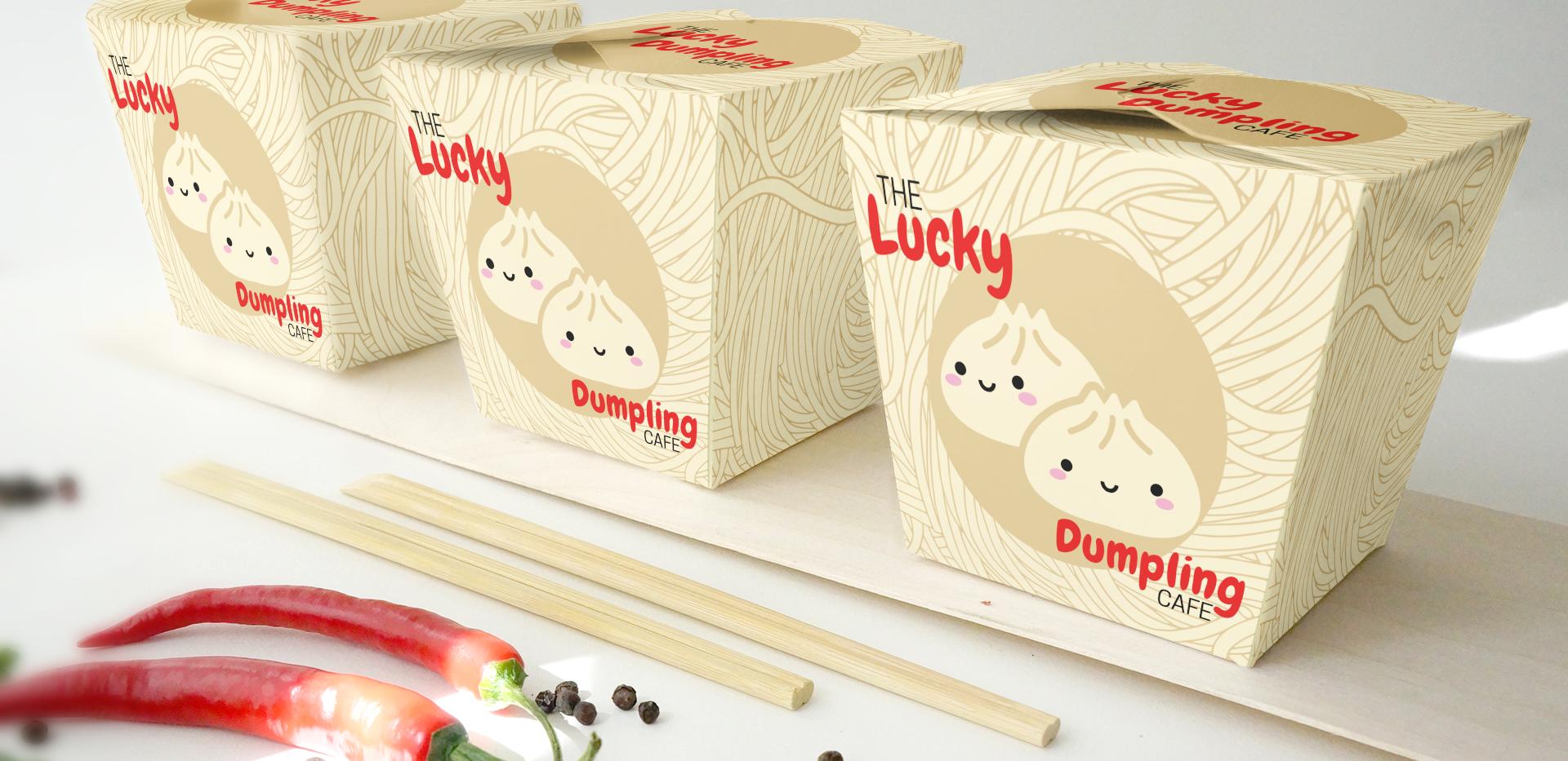 'The Lucky Dumpling Cafe' Restaurant Concept