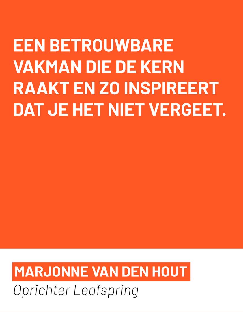 Marjonne van den Hout