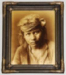 seattle art appraiser, seattle antique appraiser, edward curtis, orotone, goldtone photograph