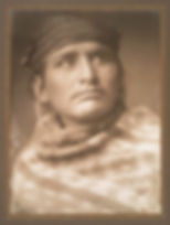 Edward S Curtis Chief of the Desert Nava