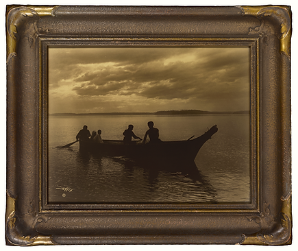 Edward S. Curtis Orotone Goldtone Photog