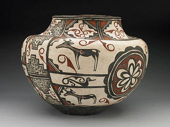 Zuni Pueblo Antique Southwest Polychrome