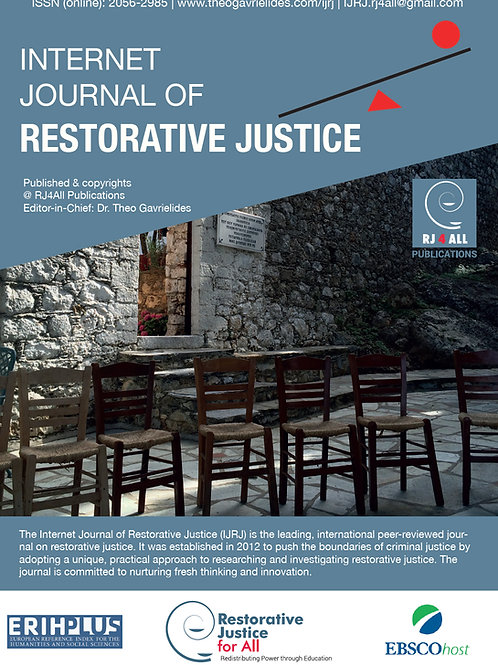 Book Review of '25 restorative Justice Case Studies'