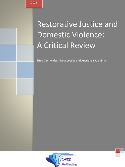 Restorative Justice and Domestic Violence