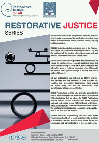 Publish in Restorative Justice Series