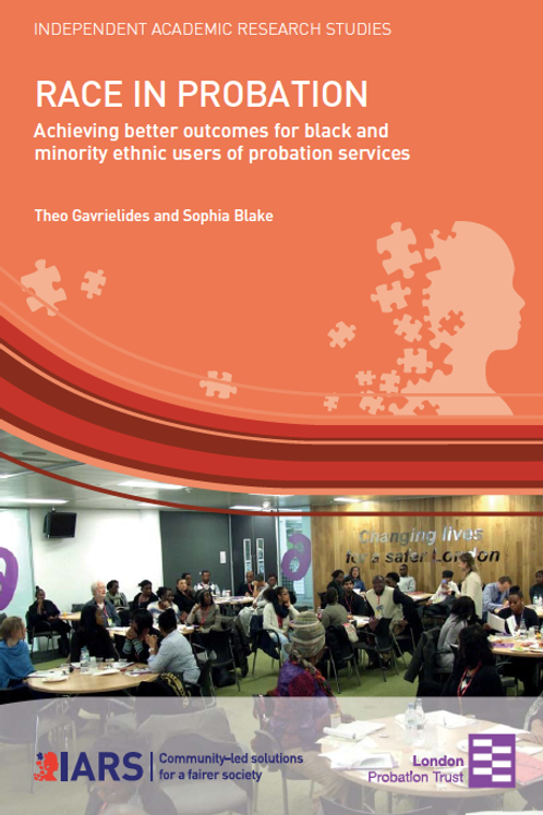 Race in Probation: Improving outcomes for BME users of probation services