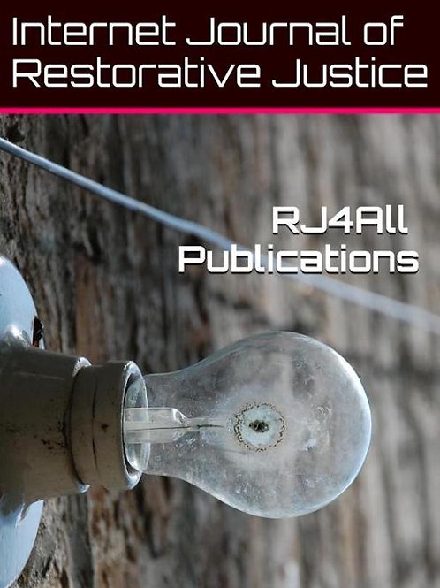 Anderson, J. (2018) A Case Study of a Prisoner Assistant Facilitator in an RJ ..