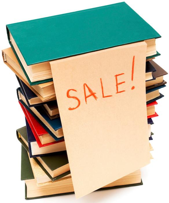 Charity e-bookstore sales