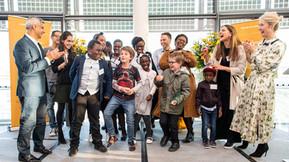 A message of hope: Children-led restorative justice art