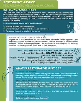 What victims and offenders want from restorative justice: New evidence