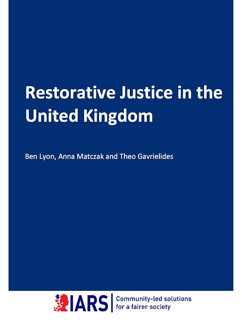Restorative Justice in the UK