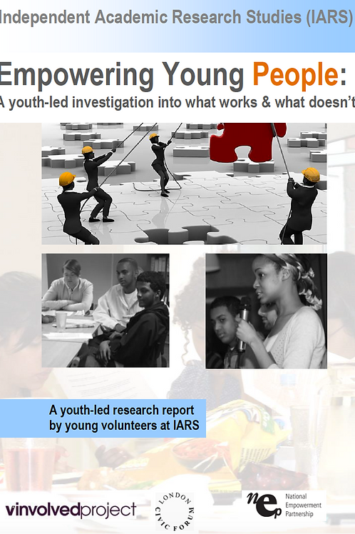 Empowering Young London: An investigation into what works and what doesn't