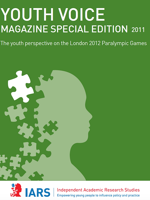 Youth Voice Journal: Special Issue
