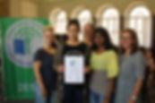 Auszeichnung: Umweltschule in Europa 2018