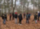 Der Waldtag unserer Klasse 8a im Berliner Grunewald