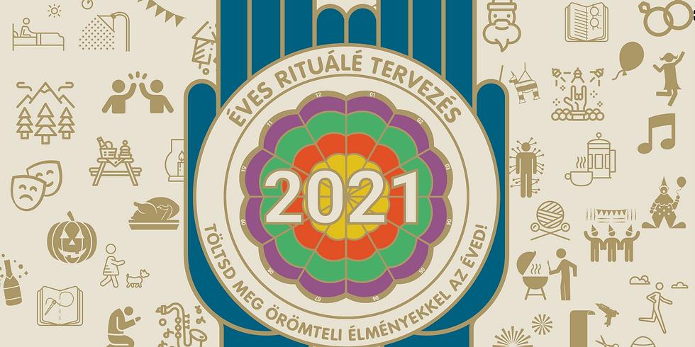 Éves rituálé tervezés   Online útmutató az éves rituálé tervező kitöltéséhez