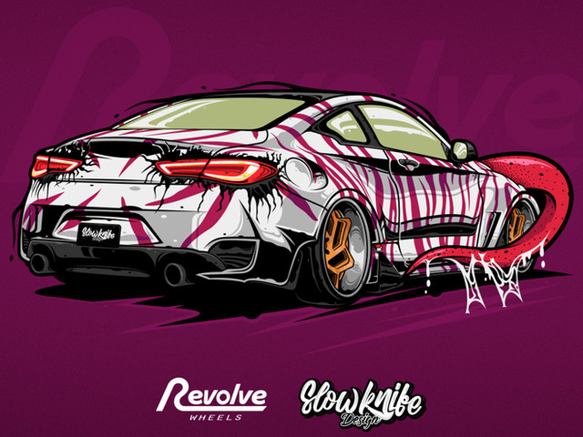 Revolvewheels automotive art