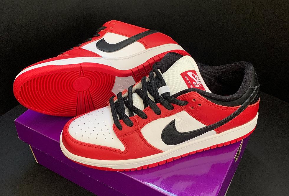 Nike SB Dunk Low J-Pack Chicago Sike UK 9