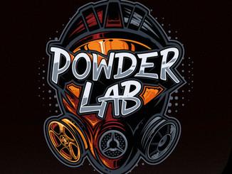 Powder Lab Logo design