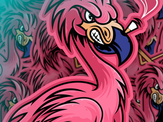 Exotic Stash mascot design