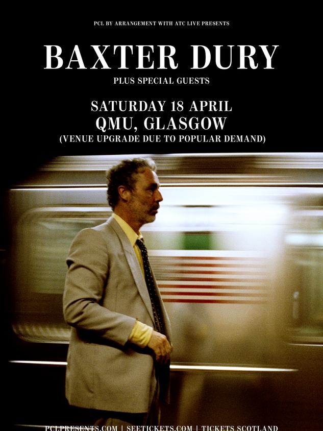 Baxter Dury | March 20th 2021(Cancelled)
