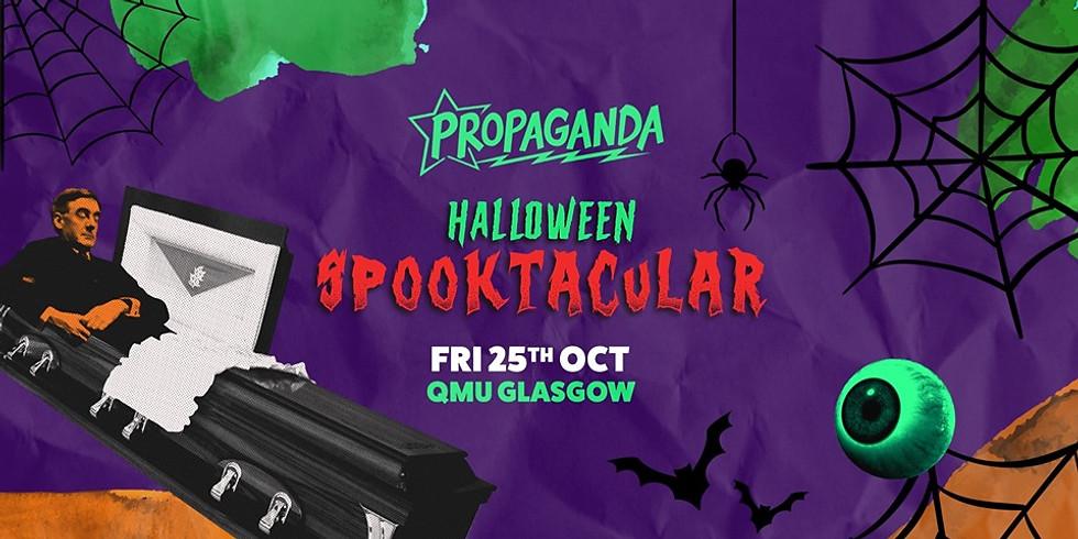 Propaganda Glasgow Halloween Spooktacular! @QMU
