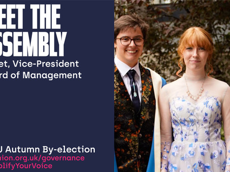 Meet the Assembly - Juliet, Vice-President