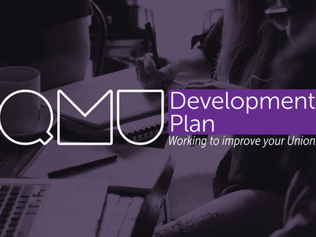 #QMUDevPlan | Working to Improve Your Union