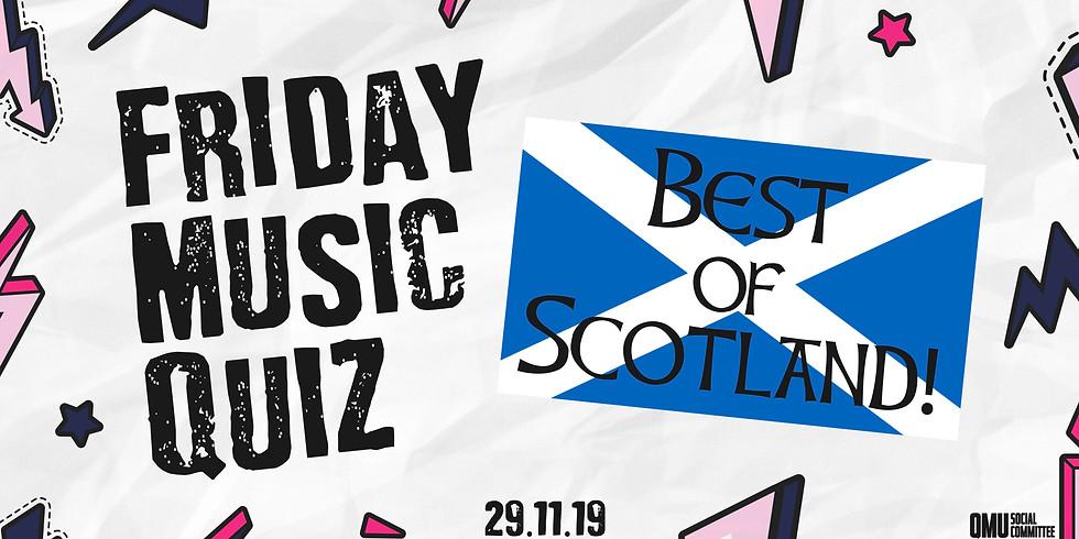 Friday Music Quiz: Best of Scotland!