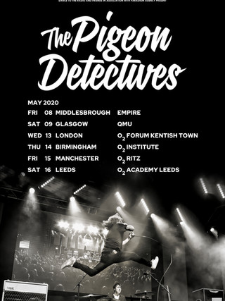 THE PIGEON DETECTIVES | TBC