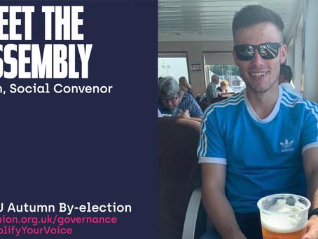 Meet the Assembly - Josh, Social Convenor