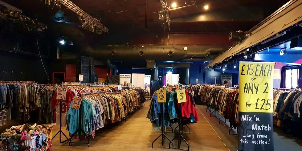 Glasgow QMU Vintage Clothing Sale!
