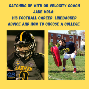 Catching Up With QB Velocity Coach Jake Mola