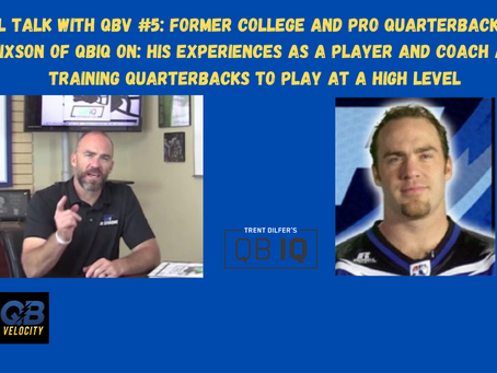 Real Talk with QBV #5: Former College and Pro Football Quarterback Chris Hixson