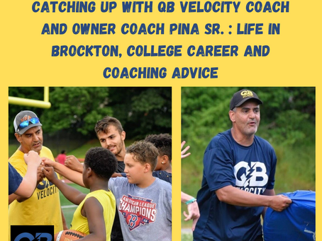 Catching up with coach and owner Coach Mike Pina Sr: Life in Brockton, College football and coaching